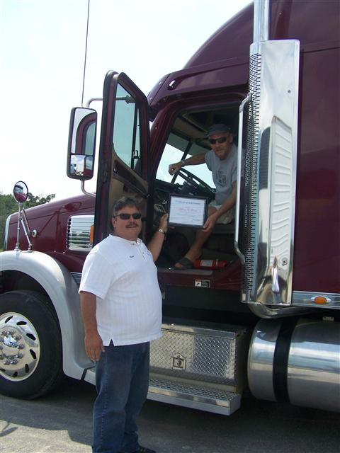 Truck Driver getting his CDL License