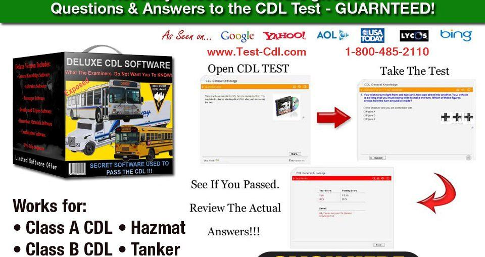 Cdl Test Software Picture
