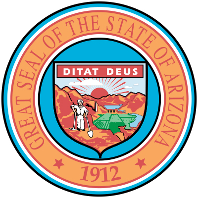 State Of Arizona CDL License Test Seal